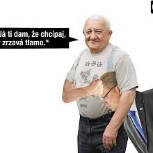 Lidé si dělají legraci z šéfa lidovců Pavla Bělobrádka
