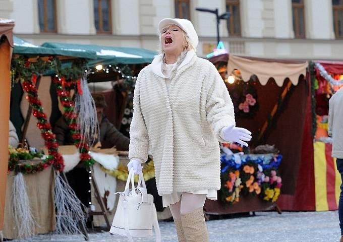 Hana Čížková ve snímku Vánoční Kameňák