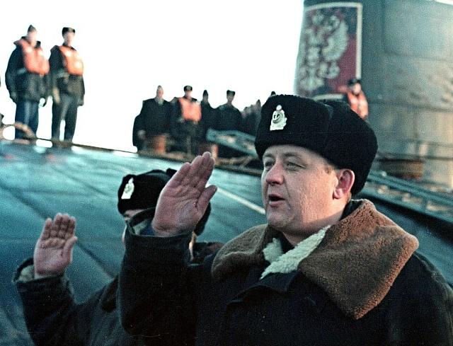 Velitel ponorky Kursk Gennadij Petrovič Ljačin
