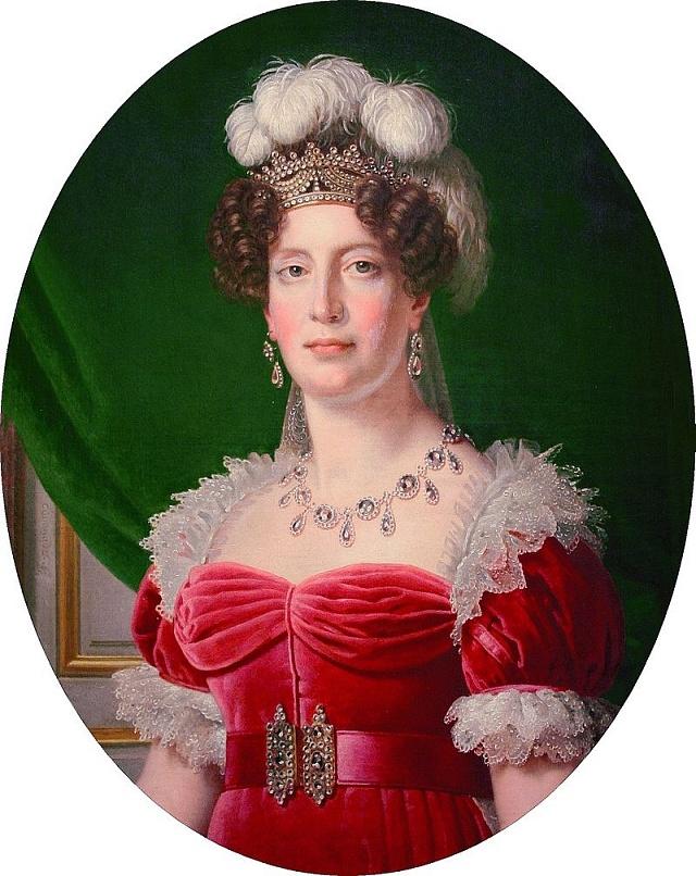 Marie Terezie Šarlota revoluci přežila.