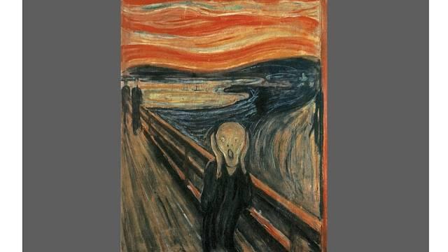 Slavný Výkřik Edvarda Muncha je dalším obrazem s příběhem