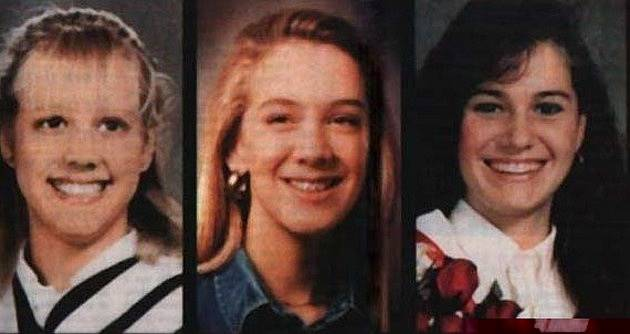 Oběti Paula Bernanda a Karly Homolky: Tammy Homolka, 15, Leslie Mahaffy, 14 a Kristen French, 15