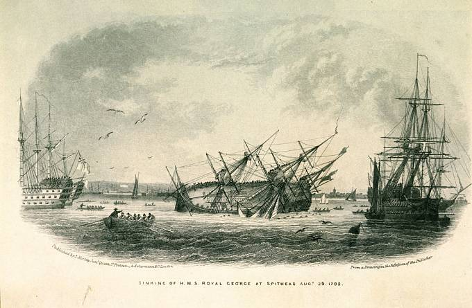 Potopení H.M.S. Royal George.