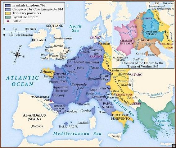 Franská říše za Karla Velikého
