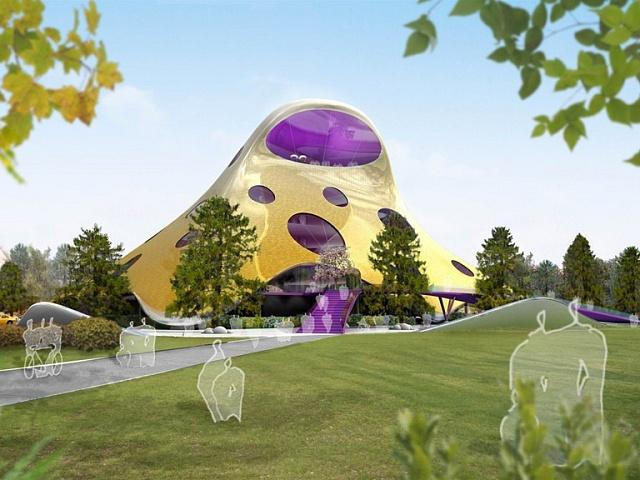 Návrh budovy Národní knihovny na Letenské pláni vPraze od britského architekta českého původu Jana Kaplického vroce 2008vzbudil mimořádný zájem veřejnosti. Kvůli odporu politiků však zrealizace sešlo.