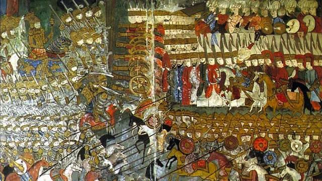 Bitva u Moháče v dobovém zobrazení