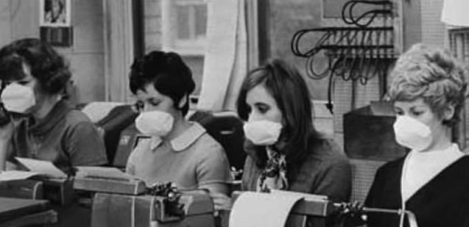 Chřipka se rychle šířila do celého světa.