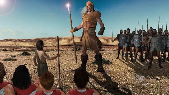 Polydaktylie prý kolovala vgenech biblického Goliáše.