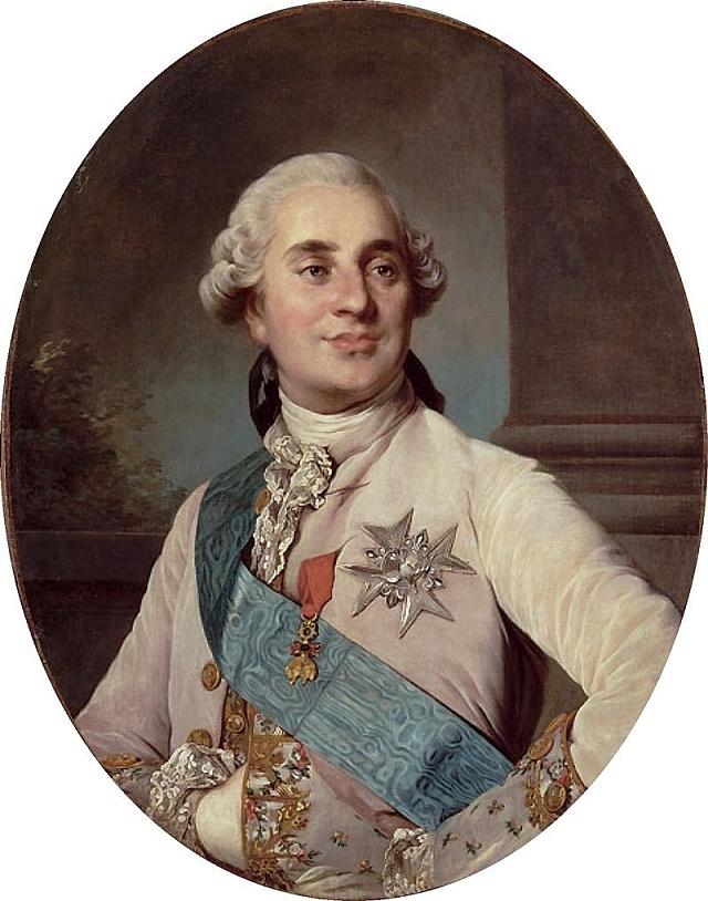 Ludvík XVI. zobezity časem vyrostl.