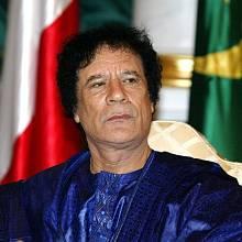 Muammar Kaddáfí v roce 2003
