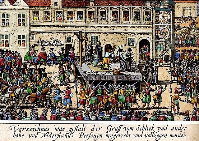 Poprava 27českých pánů vr. 1621