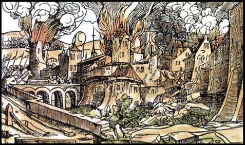 Požár Malé Strany a Hradčan vroce 1541