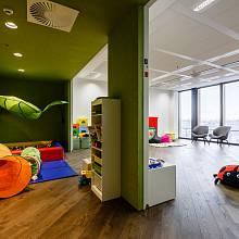 Nové kanceláře firmy Avast / dětský koutek