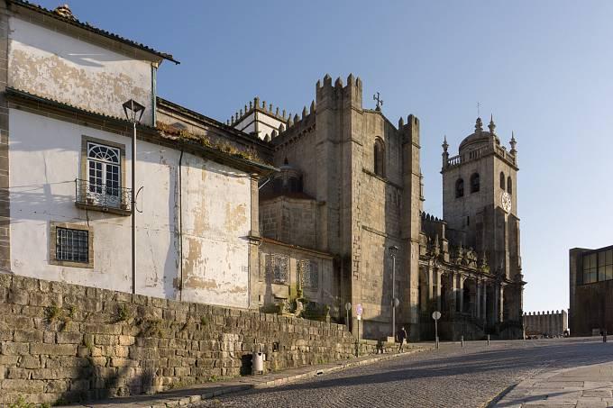 """Sé do Porto, v překladu """"portská katedrála"""""""