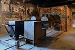 Krematorium v táboře Osvětim - Birkenau