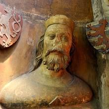 Busta Jana Lucemburského v triforiu katedrály sv. Víta v Praze