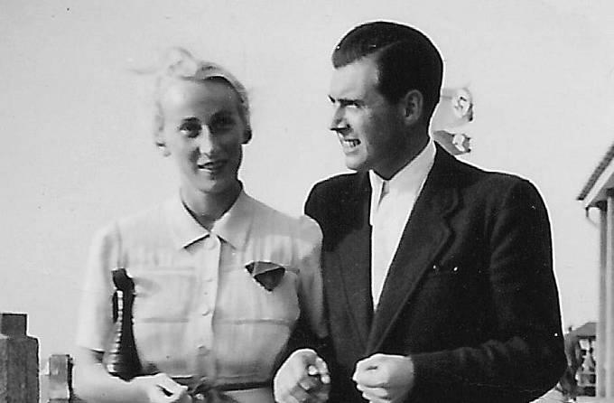 Josef Mengele a manželka Irene