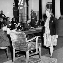 Ilse Koch u amerického tribunálu