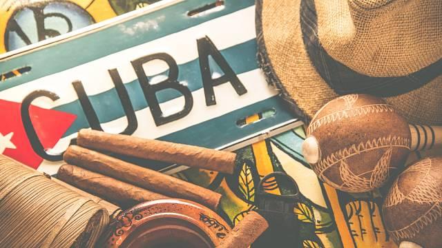 Ilustrační foto: Kuba, doutníky, vlajka