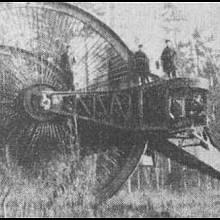 """Prototyp prvního ruského """"tanku"""" z roku 1915"""