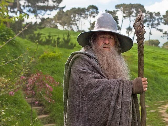 Gandalf Iana McKellana, inspirovaný obrazem Johna Howea