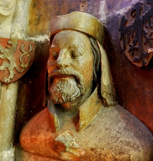 Busta Karla IV. vkatedrále Sv. Víta