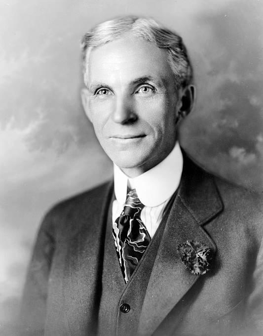 Henry Ford na snímku z roku 1919
