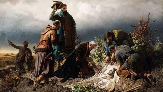 Král Ludvík Jagellonský zahynul při útěku z bojiště.