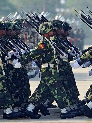 Barmská junta