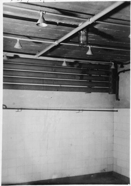 Plynová komora v táboře Mauthausen