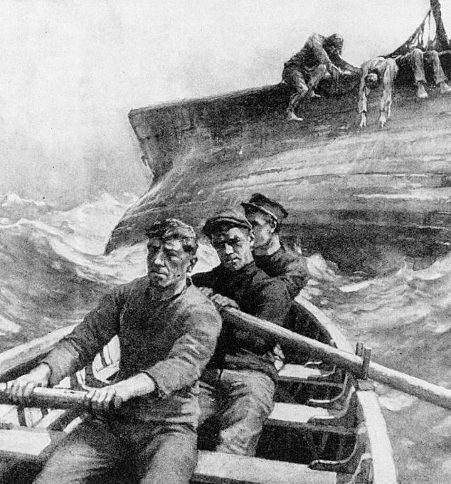 Posádka zřejmě opustila loď v panice a spěchu. Nikdo však neví, co ji vyděsilo.