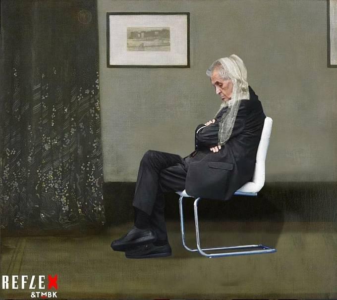 V pozici Whistlerovy matky