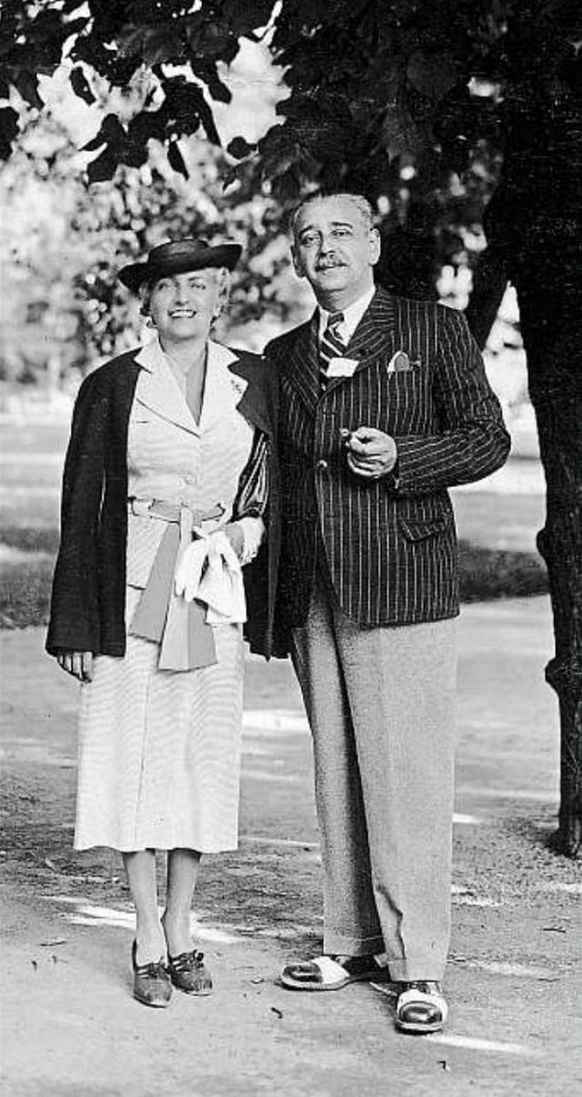 Rudolf Jelínek s manželkou Irenou