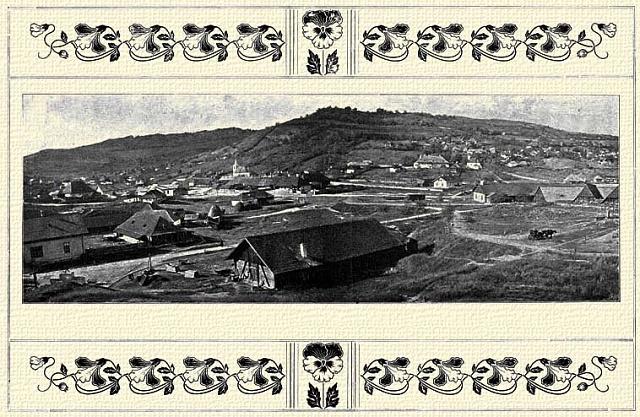 Městečko Deés vněkdejším uherském Sedmihradsku, kam byl zPrahy vypovězen Josef Václav Frič. Dnes leží na území Rumunska