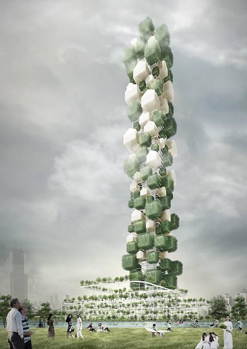 V centru vietnamské Hanoje by měl vyrůst nový mrakodrap jako lákadlo pro turisty, kteří by ve vertikální formě měli zažít stejný zážitek jako při poznávání do široka rozprostřené metropole. (Čestné uznání)