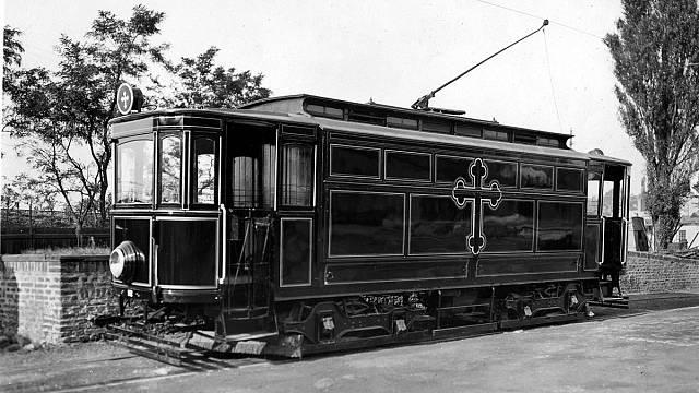 Černá Máry, aneb jediná česká pohřební tramvaj