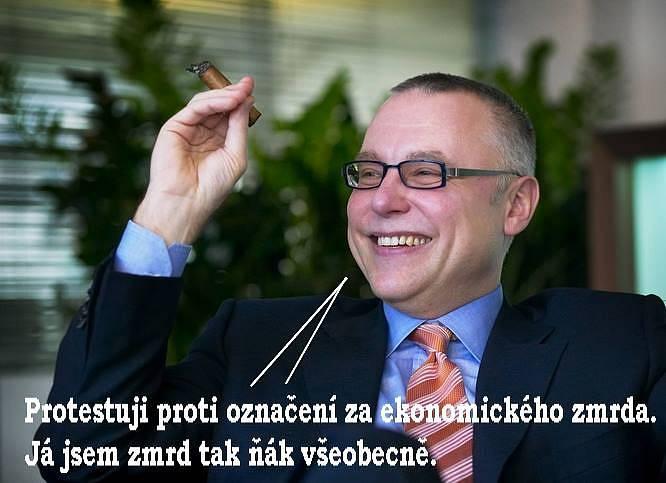 Pár memů se trefilo i do finančníka Zdeňka Bakaly