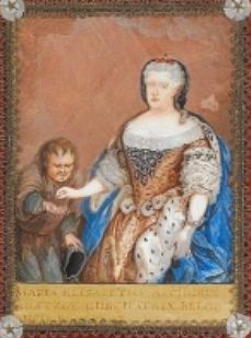 Po smrti své matky se Marie Alžběta stala abatyší ženského konventu vInnsbrucku
