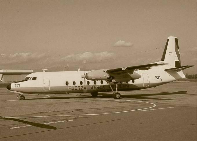 """Letadlo, které bylo využito pro natáčení snímku """"Naživu"""", který pojednává o přežití šestnácti pasažérů v Andách."""