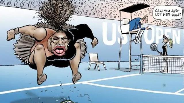 Karikatura Mirka Wrighta vyvolala v sociálních sítí vlnu nenávisti vůči jejímu autorovi. Jeho kolegové ho brání