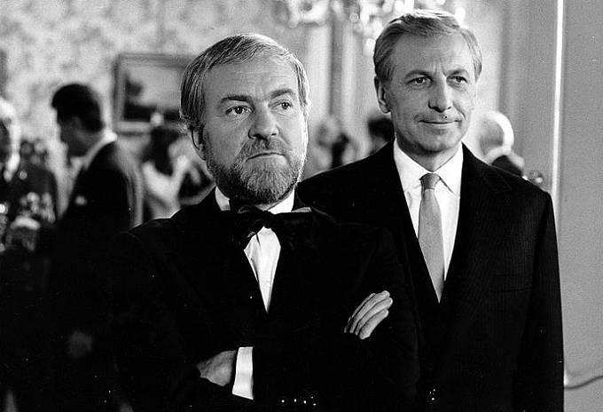 Miroslav Macháček a Ladislav Chudík v roce 1972