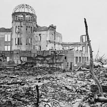 Hirošima bezprostředně po atomovém výbuchu