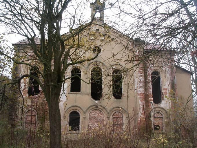 Evangelický kostel v Růžové na Děčínsku