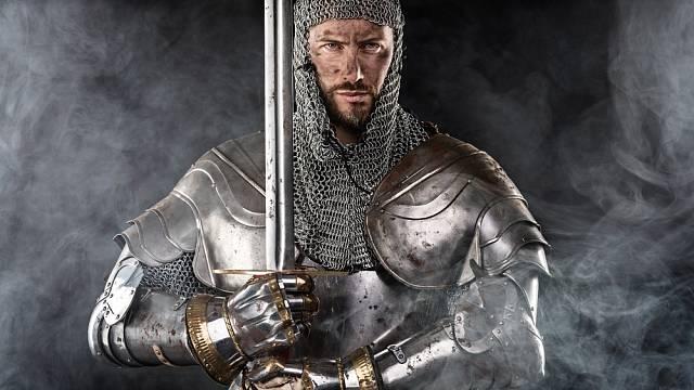 Středověký rytíř - ilustrační foto