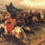 Osmanští sipahíové v bitvě u Vídně.