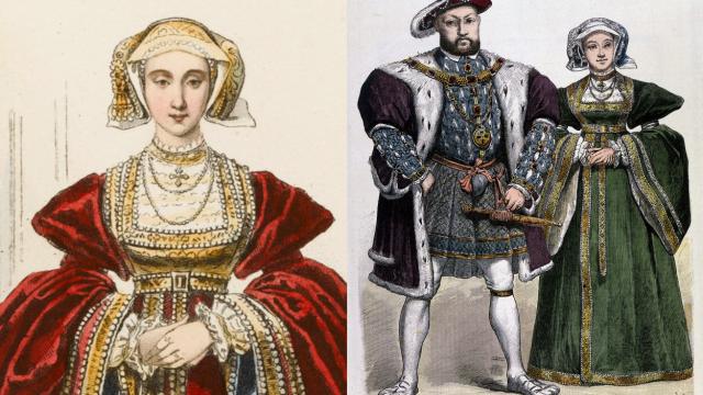 Anna Klevská a Jindřich VIII.