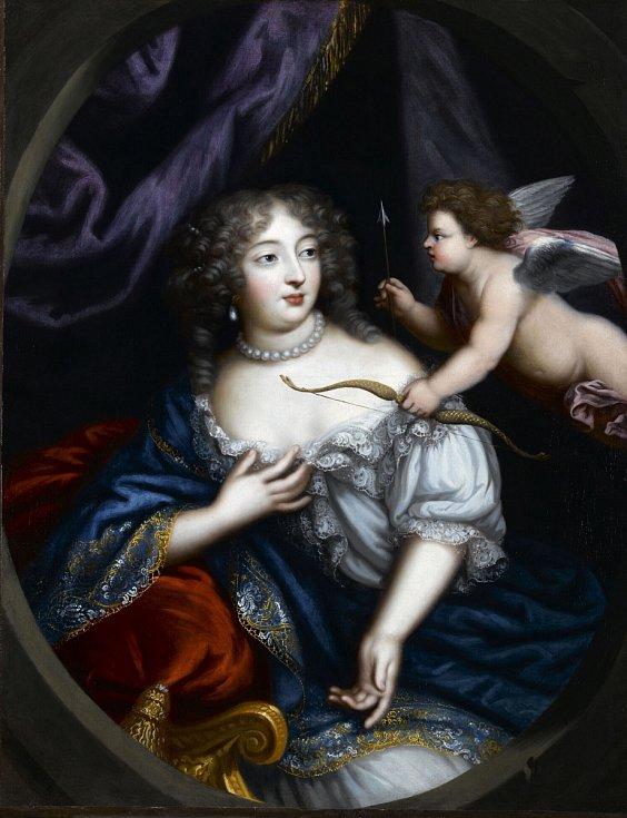 Madame de Montespan, jedna z metres Ludvíka XIV. Jak vychovatelka jejich nemanželských dětí s králem byla přijata Françoise d'Aubigné.