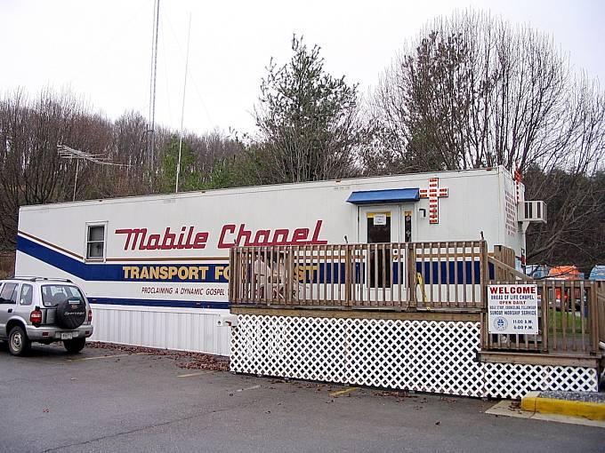 Pojízdná kaple pro řidiče kamionů, Tennessee
