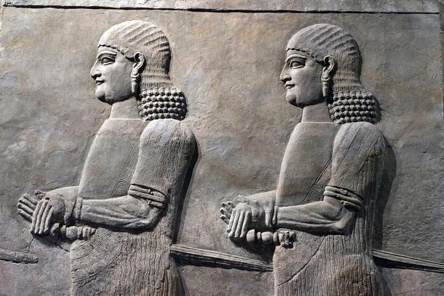 Reliéf starých Sumerů