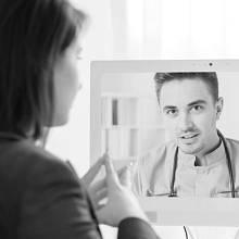 Konzultace s lékařem přes videohovor je novým trendem.